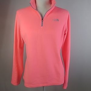 The North Face pink pullover size medium